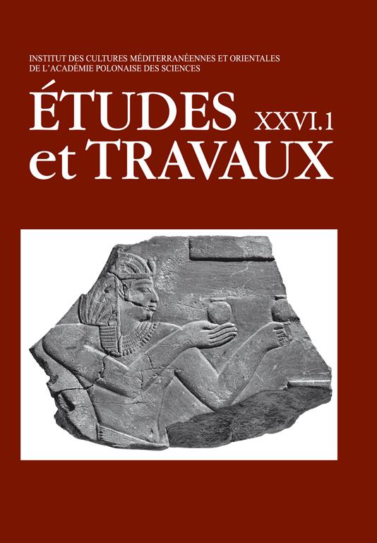 TRAVAUX XXVI okladka