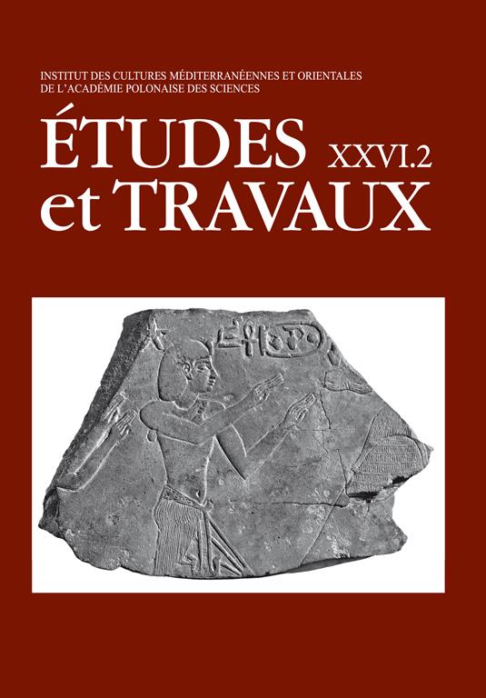 TRAVAUX XXVI okladka2